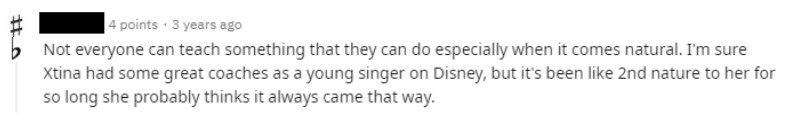 Christina Aguilera Testimony