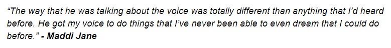 Singing Success Testimonial2