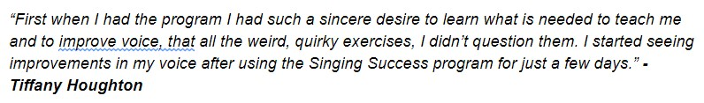 Singing Success Testimonial4