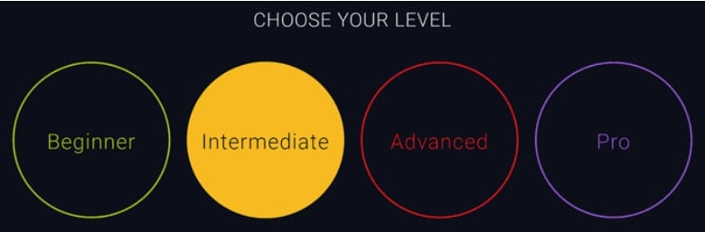 Choose your level