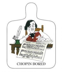 Chopin Bored Chopping Board