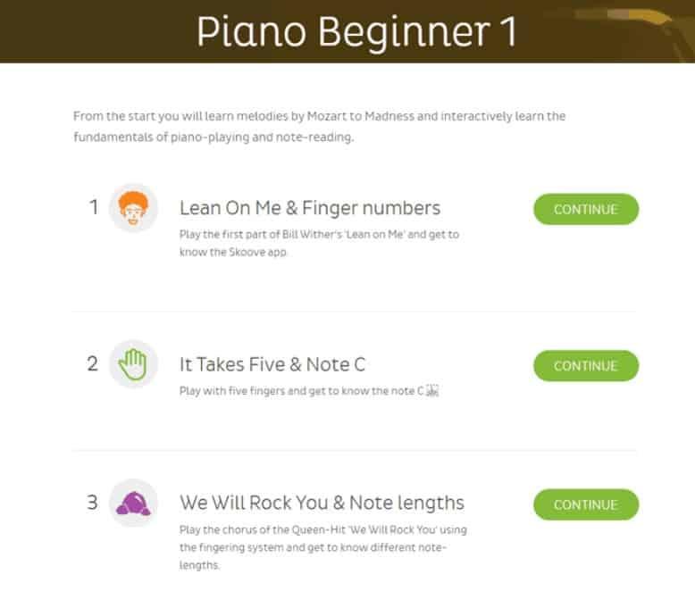 Piano Beginner