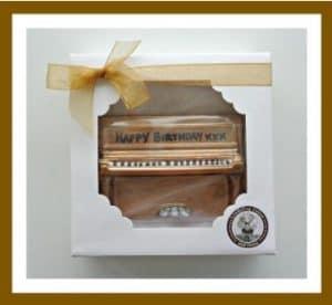 Piano Shaped Chocolates