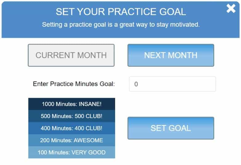 Set your practice