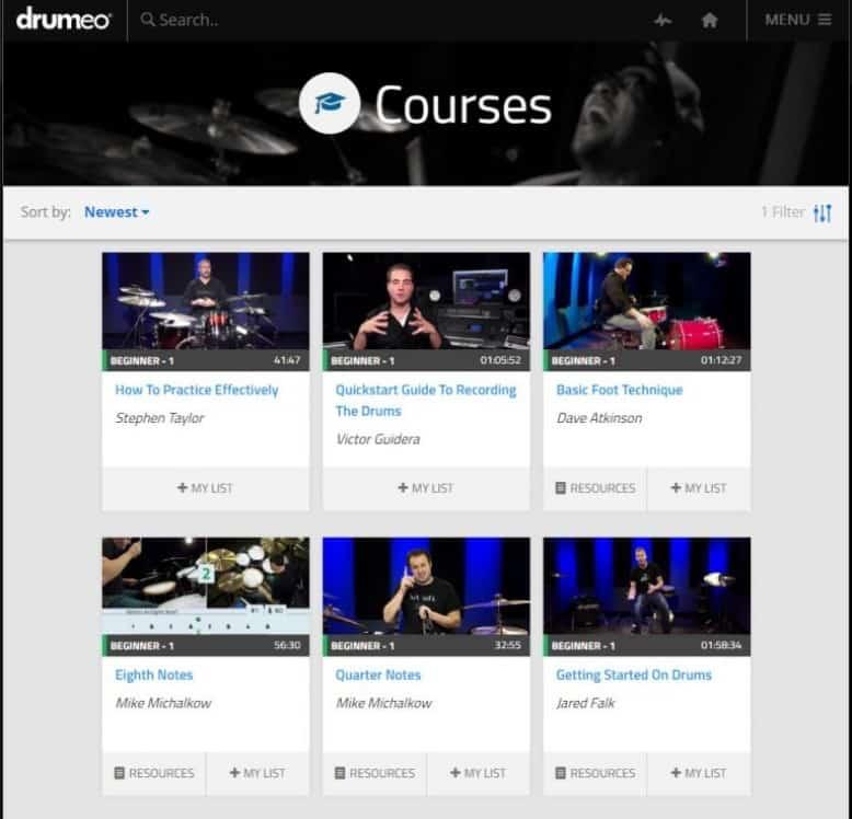 Drumeo Courses