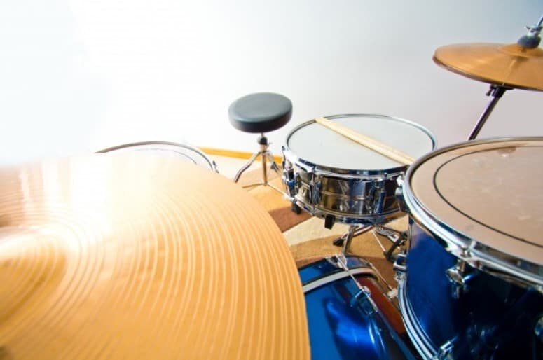 How load are drum sets in decibels