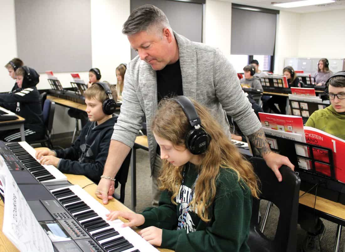 Attending Piano Schools to learn how to play piano