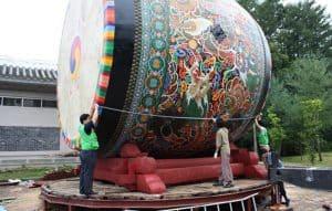 CheonGo the biggest drum