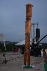 Isokan drum as the tallest drum
