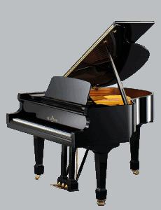 bechstein new black grand piano