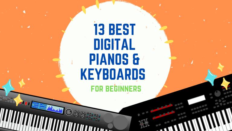 13 BEST Digital Pianos & Keyboards For Beginners 2021