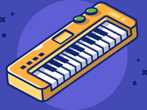 New Piano Icon