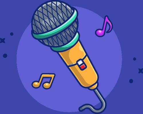 New Singing Icon
