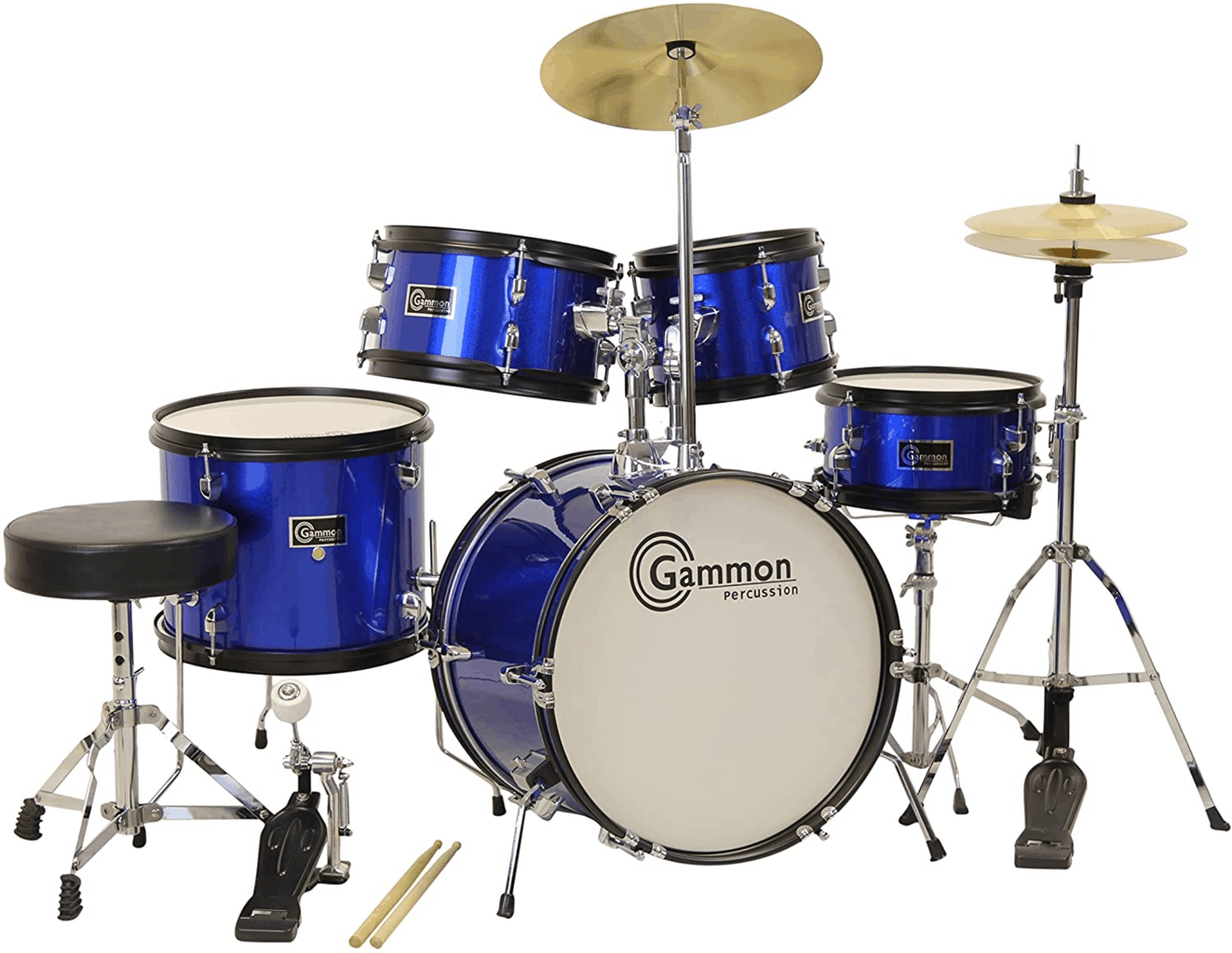 Gammon 5-pc Junior Starter Drum Set