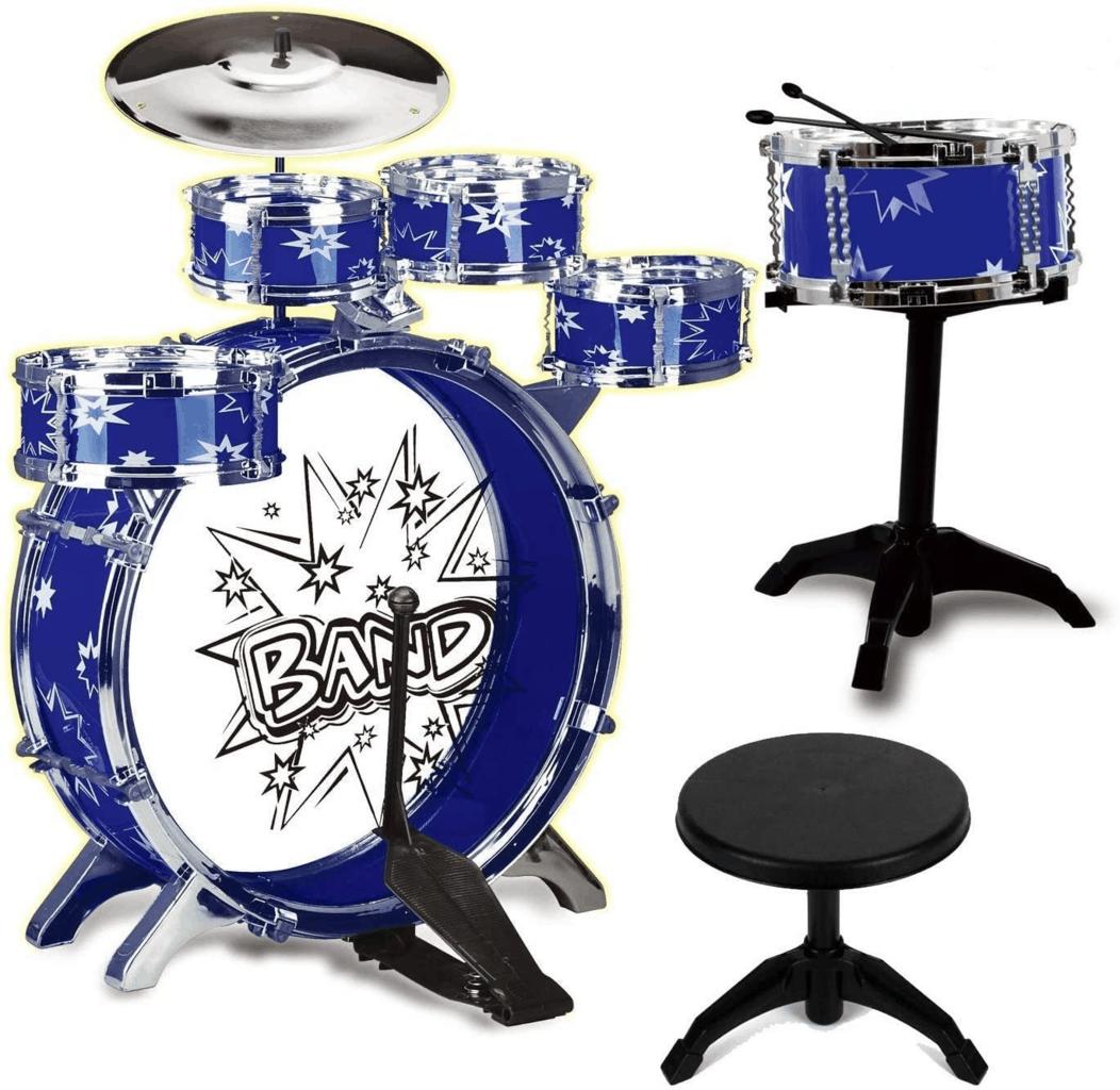 Toyvelt 12 Piece Jazz Drum Set