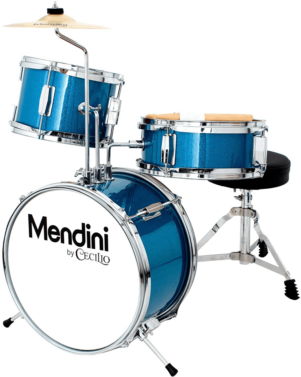 Mendini by Cecilio 16 inch 5-Piece Complete Kids Kit