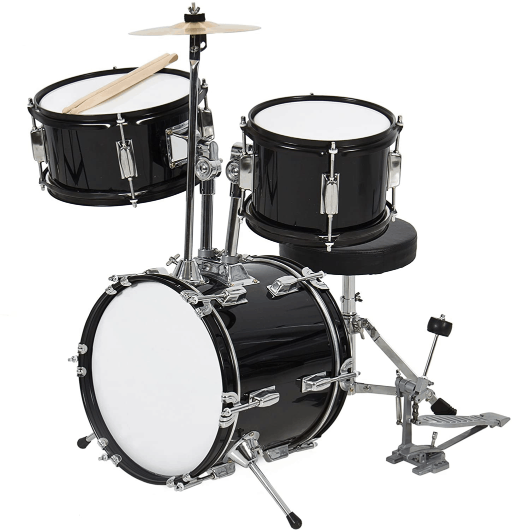 Best Choice Products 3-Piece Kids Beginner Drum Set