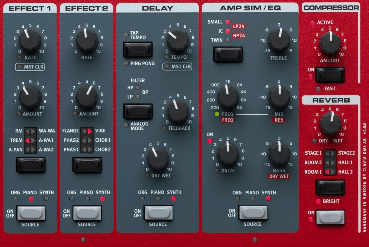 Nord Stage Sound Effects